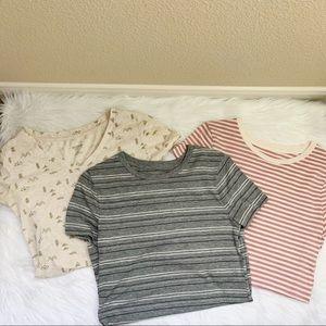 Mossimo T-Shirt Scoop V-neck Bundle